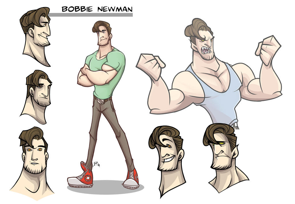 Bobbie Character Sheet by LiamDoodles
