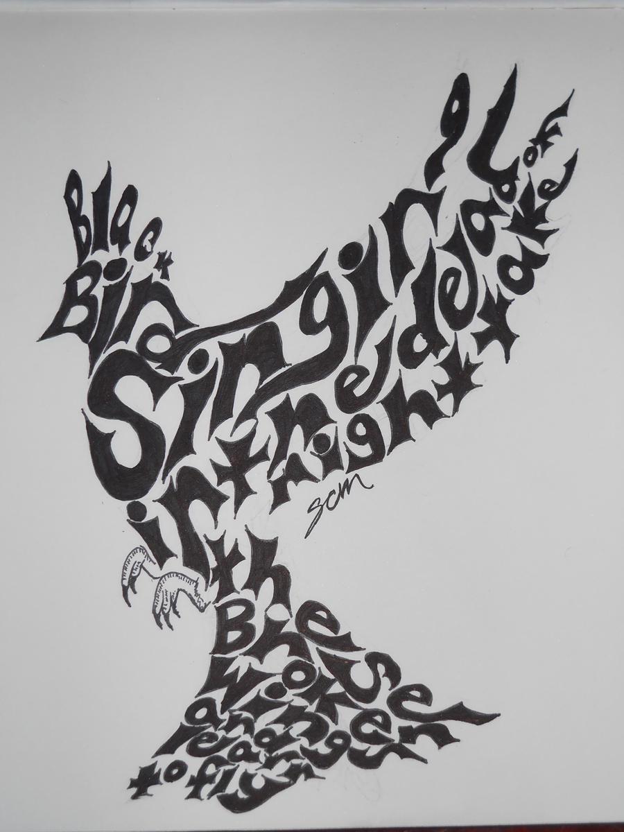 Blackbird Beatles Tattoo Designs