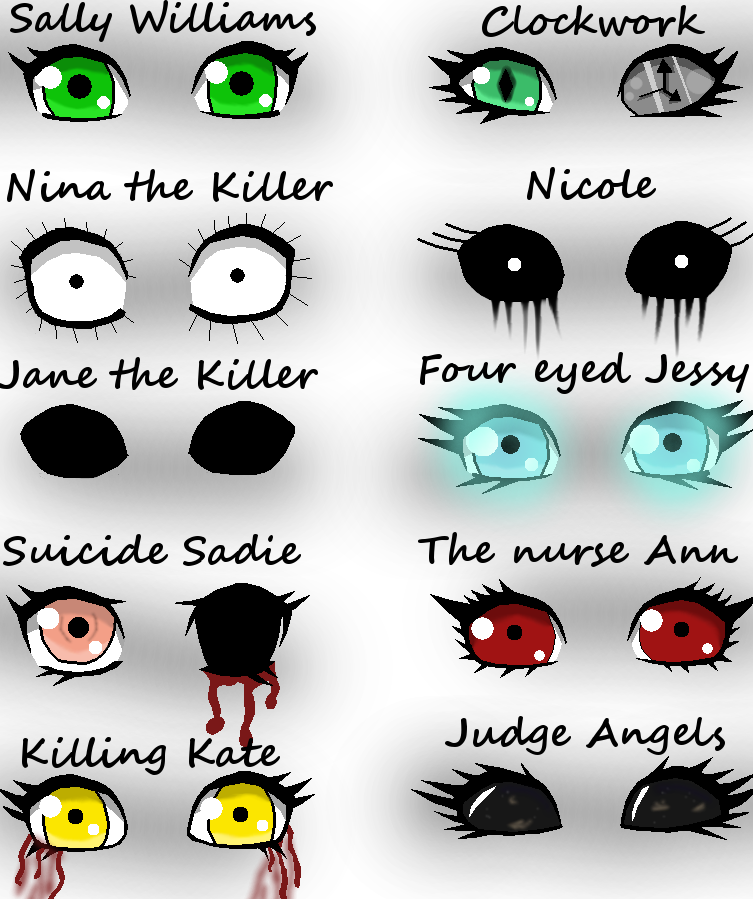 Creepypasta Names Pictures to Pin on Pinterest - PinsDaddy