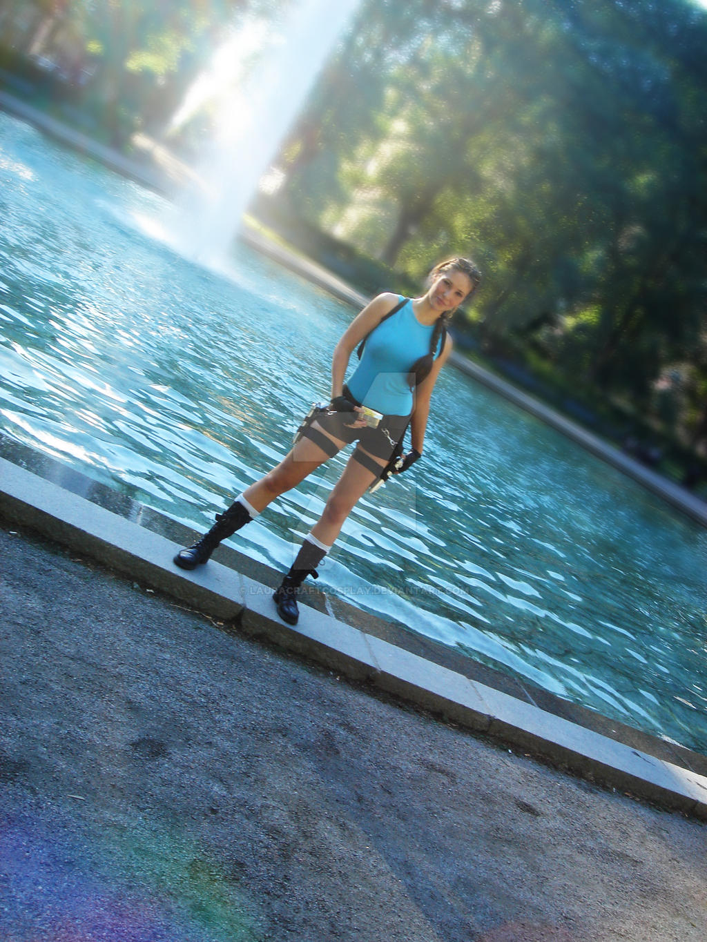 Tomb Raider Anniversary by LauraCraftCosplay