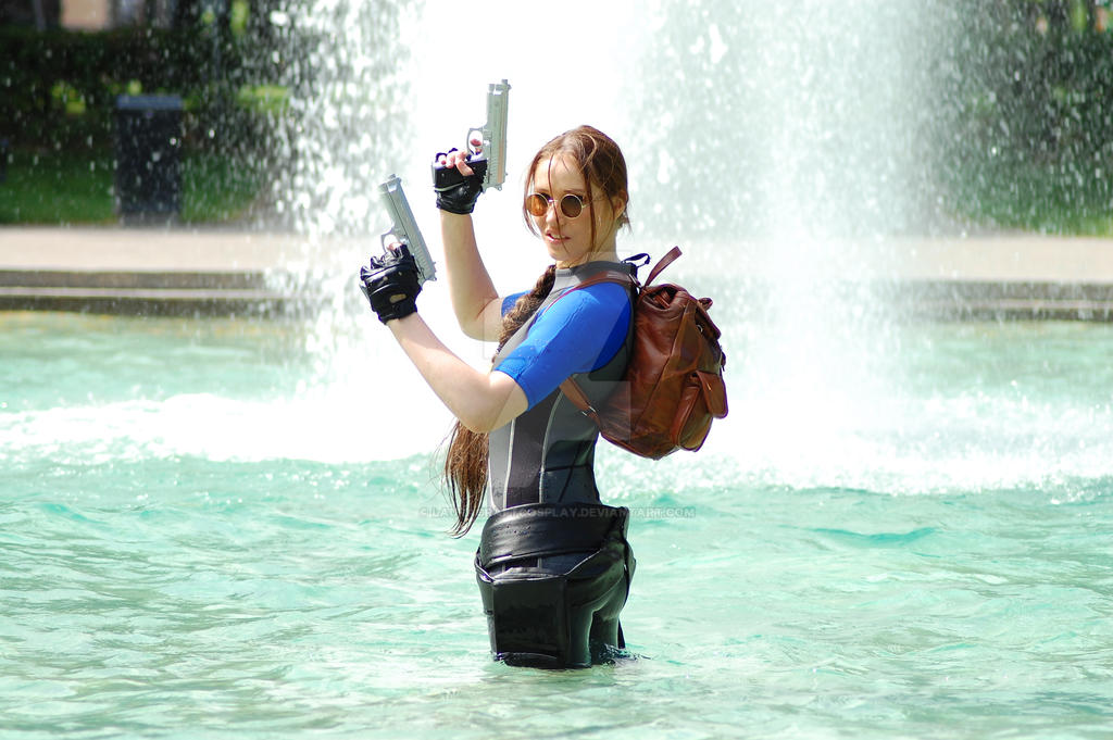 Tomb Raider Wetsuit by LauraCraftCosplay