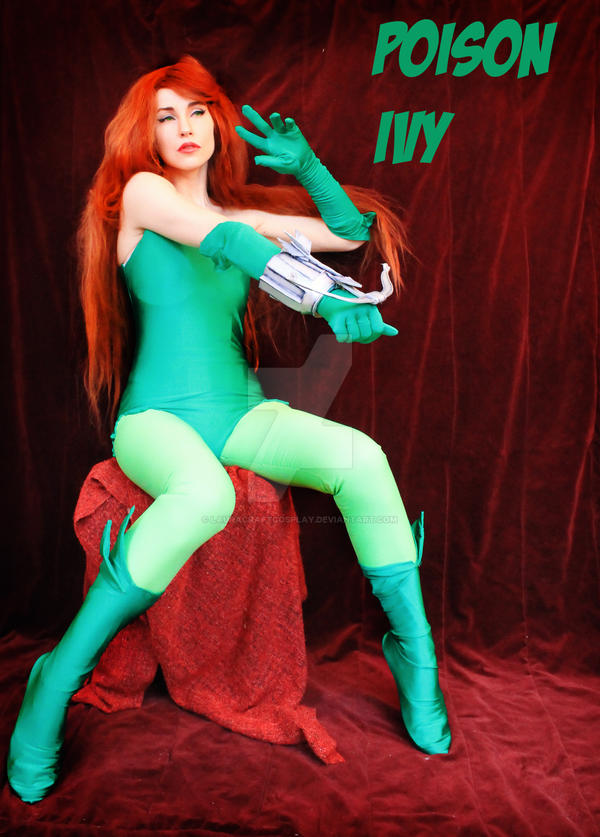 Poison Ivy by LauraCraftCosplay