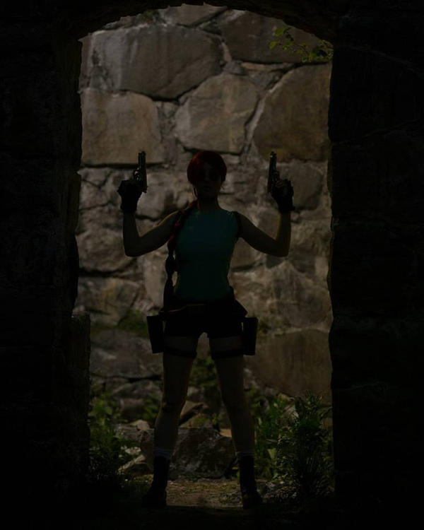 Tomb Rider Wallpaper: Tomb Raider Classic Cosplay By LauraCraftCosplay On DeviantArt