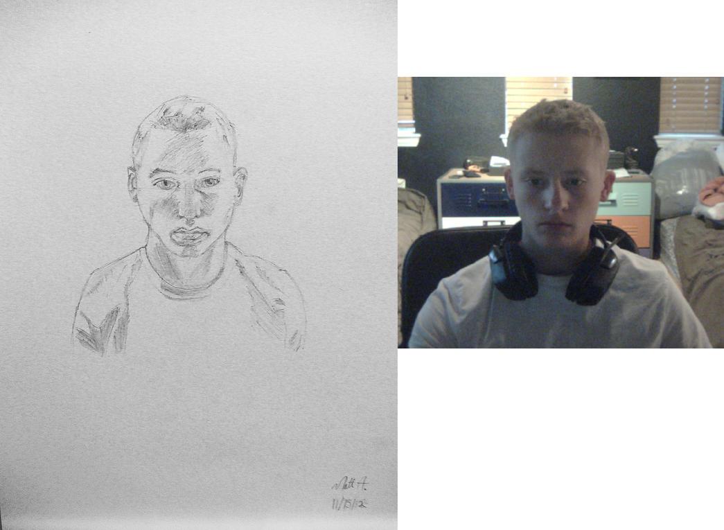 Self Portrait by Rotfish