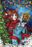 [FOR SALE] Xmas Bunny by akanotsubasa