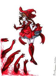 [FOR SALE] Red Wadanohara by akanotsubasa