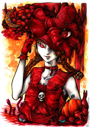 Halloween Wadanohara by akanotsubasa