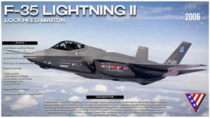 LOCKHEED MARTIN F-35 LIGHTNING II - LEXIS CARDS