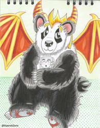 Panda Dragon by KaernkZero