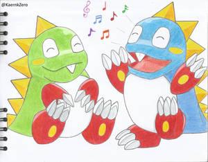 Bub and Bob (Bubble Bobble)