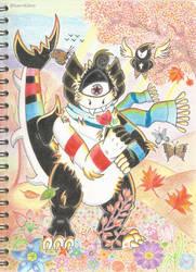 Mouak: The imaginary friend (Art Trade)