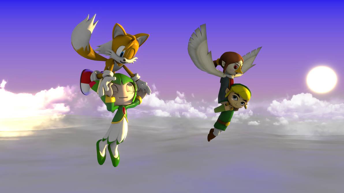 Crossover: Sonic + Zelda - Frequent Fliers