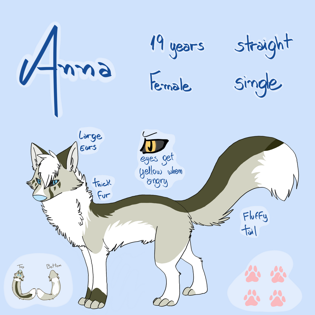 Anna -.- Reference Sheet