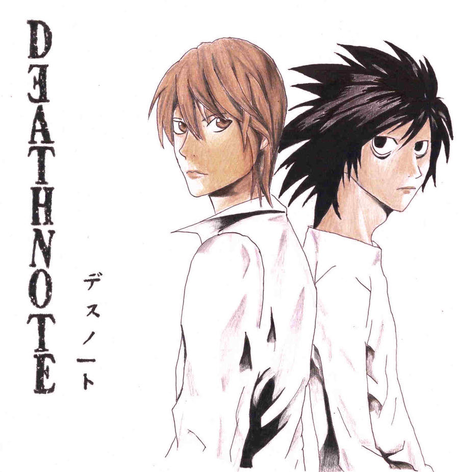 Death Note: Light And L By IcyViolet On DeviantArt