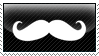 Mustache Stamp by Rothstein-Kaiser