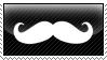 Mustache Stamp by Rothstein-Kaiser