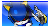 Metal Sonic Stamp by Rothstein-Kaiser