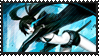Black Rock Shooter-Stamp by TenshiMendoza