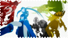 Black Rock Shooter Anime Stamp 3 by Rothstein-Kaiser