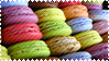 Macaroons Stamp by Rothstein-Kaiser