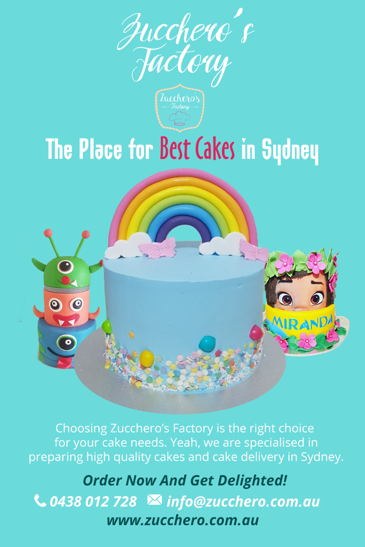 The Place For Best Cakes In Sydney By ZuccherosFactory