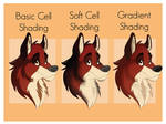 Red's Shading Types Tutorial