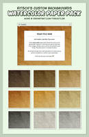Kitsch's Custom Backgrounds - Muted Pack. by TheOutli3R