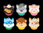 Custom Cupcake Critters!