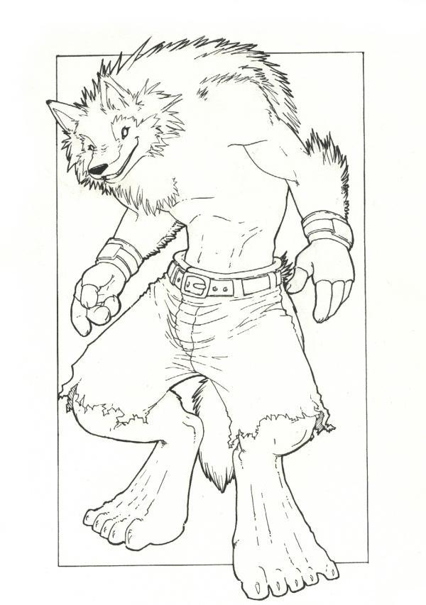 Werewolf by Sefeiren