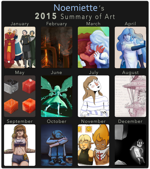 A year of drawing