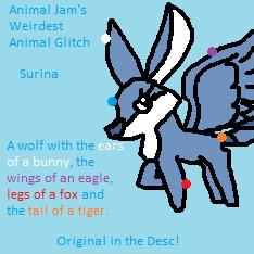 Surina - AJ's Best Animal Glitch! (See Desc) by Mika-Miku-Chan