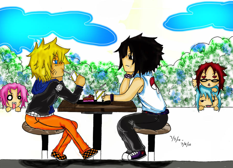 Anime First Date First Date by Anime14emo