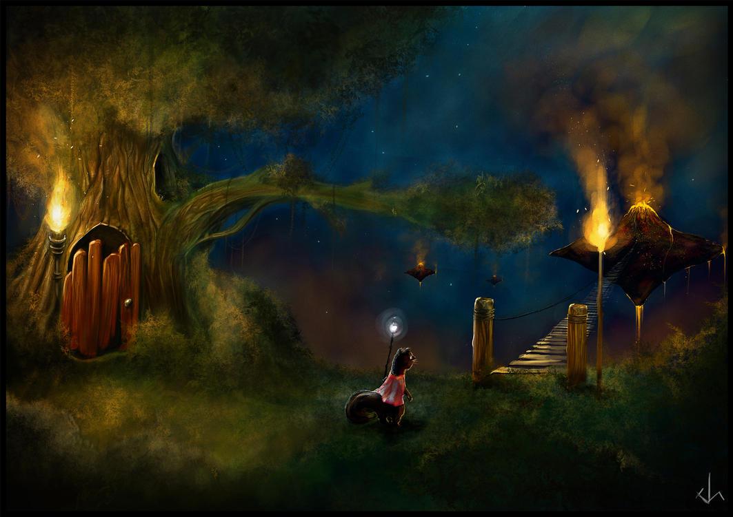Start of an Adventure by JoshSummana