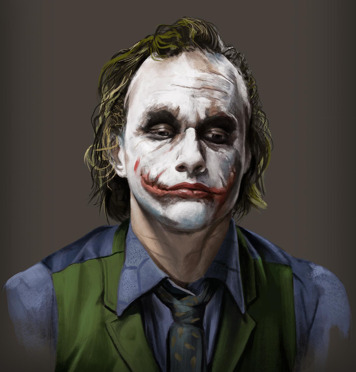 Joker Study by JoshSummana