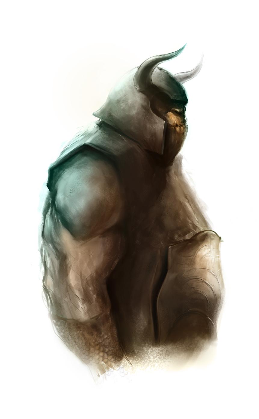 Fat Orc Thing by JoshSummana
