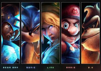 The Heroes by JoshSummana