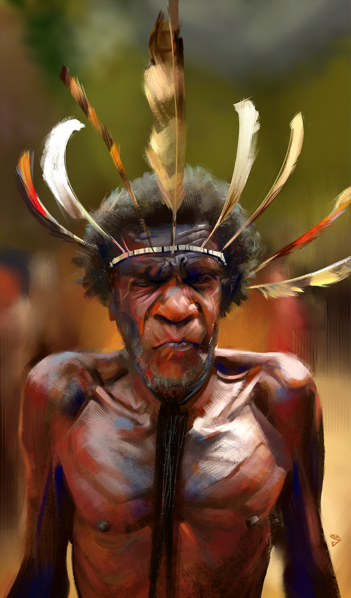 Tribesman Kevin by JoshSummana