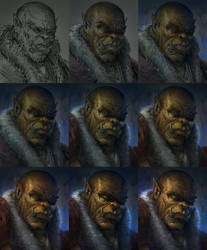 Orc Steps by JoshSummana