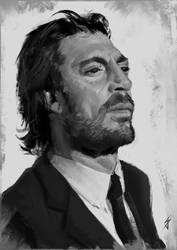 Javier Bardem by JoshSummana