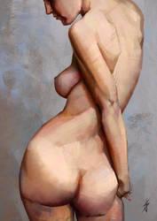 Woman Shape Study by JoshSummana