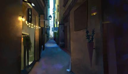 Street-view by JoshSummana