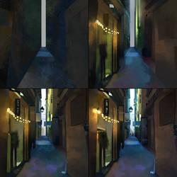 Street View Steps by JoshSummana