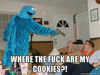 cookie monter goes postal by gamerma
