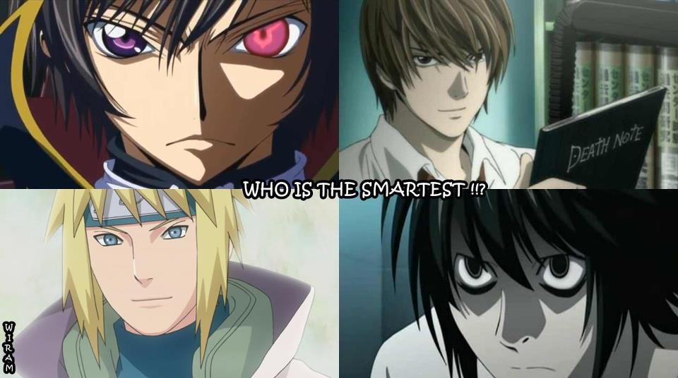 Smartest Anime Characters Ranker : Smartest anime by gamerma on deviantart