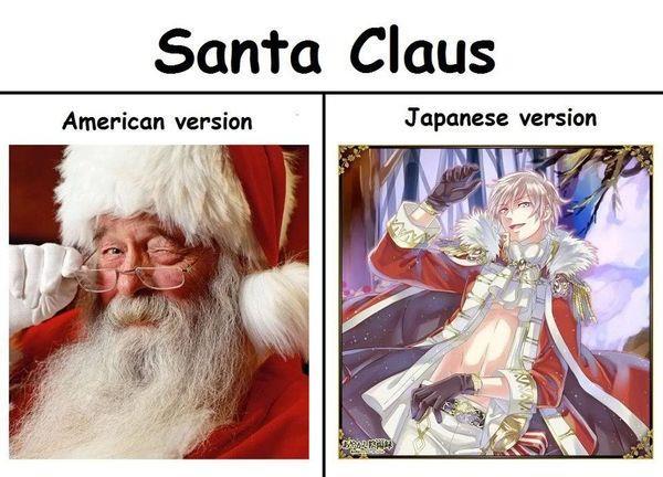 santa claus by gamerma