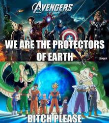 Dragon Ball Z Meets The Avengers