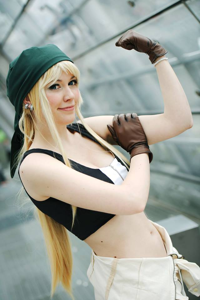 We can do it! Winry from Fullmetal Alchemist by flakes-sama
