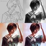 Hajimaru (Art Process)