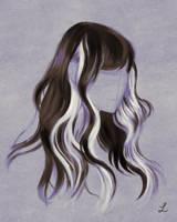Hair (Sketchbook) by Lillendandie