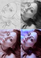 Amaranthine (Art Process) by Lillendandie